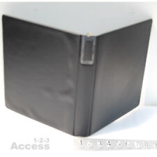 Wilson Jones Vtg 198 14b Heavy Duty 3 Rings Binder 2 Black 10 X 11 12