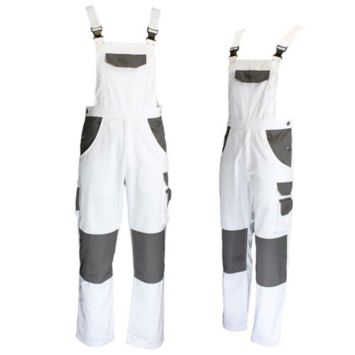 Mens Bib And Brace Painters /& Decorator Overall Coverall Dungaree Work DIY