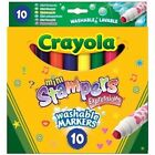 Crayola 10 Mini Stampers Expressions Washable Markers.