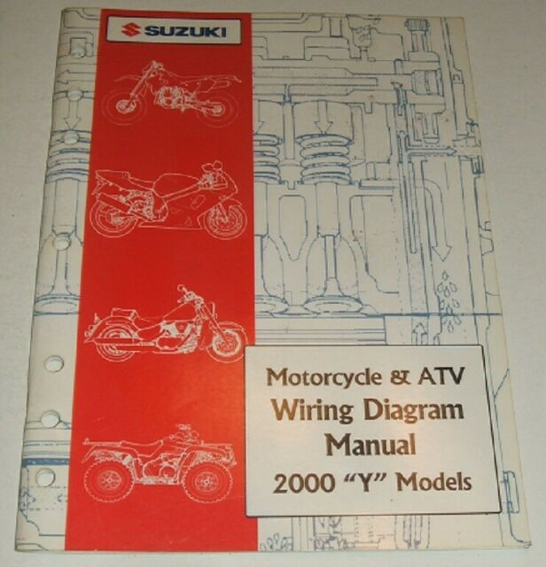 1999 SUZUKI WIRING DIAGRAM MANUAL GSXR GSX DR VS LS VS 125 ...