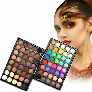 40-Farben-Palette-Lidschatten-Nude-Natural-Shades-Makeup-Kit-Set-Pinsel-Sell