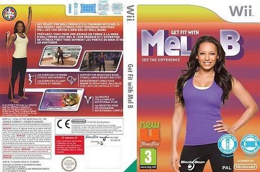 FITNESS MED MEL B., Nintendo Wii, sport