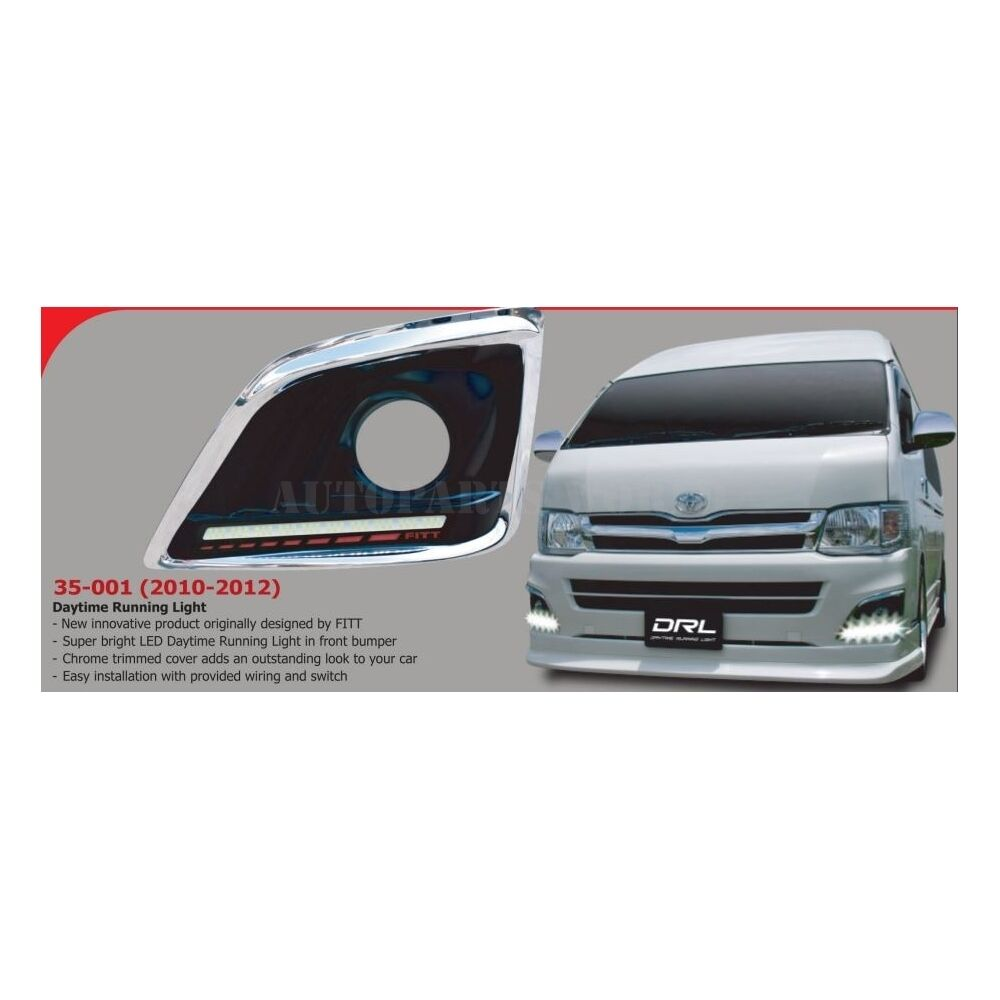 2006 Drl Daytime Running Light Cover Trim Toyota Hiace Lwb Khd Fuse Box Norton Secured Powered By Verisign