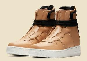 Da-Donna-Nike-Air-Force-1-Rebel-XX-UK-7-5-US-10-EUR-42-Beige-Bianco-AO1525-200