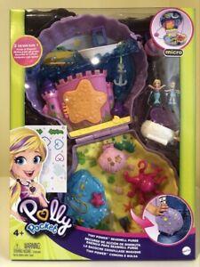 Polly Pocket Tiny Power Seashell Purse Compact Playset Mattel Brand New