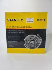 Stanley 1 14 Diameter Large 20 Feet Wet Dry Vacuum Hose 25 1204 Black Ft Shop