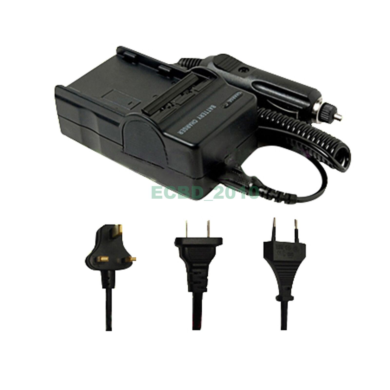 Battery Charger for PANASONIC SDR-H40 SDR-H60 SDR-H80 LSSB0016 PVGS90P PVGS90