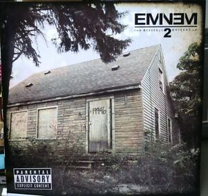 Details about EMINEM The Marshall Mthers LP2 Official RARE 36x36  DURATRANS/BACKLIT POSTER