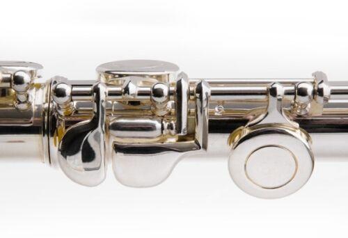 Querflöte VOLLSILBERKOPF 925 Sterling-Silver Silver Kopf  Flute Silver-Head