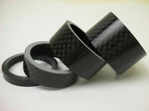 5-10-15-20mm-CARBON-fiber-MTB-bicycle-HEADSET-Spacers-kit-1-1-8-034-For-Stem-Road