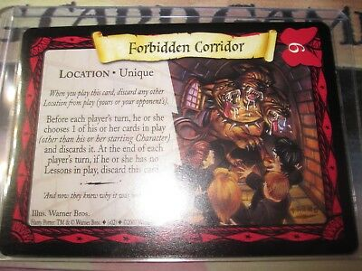 HARRY POTTER GAME TCG QUIDDITCH CUP INTO THE FORBIDDEN FOREST 39//80 UNCO EN MINT