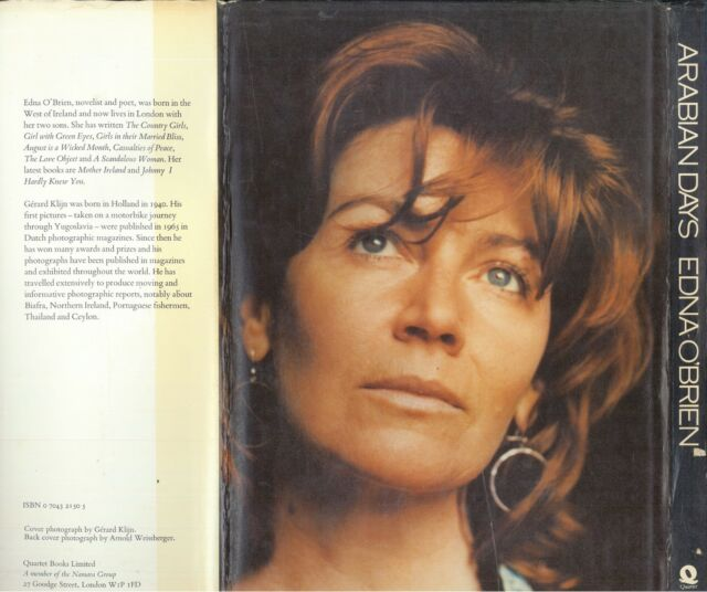 Arabian Days by Edna O'Brien, Photography by Gerard Klijn ISBN 0704321505
