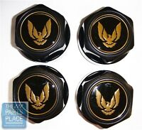 1982-92 Firebird / Trans Am Wheel Center Caps - Gold Bird - Set Of 4 - 610