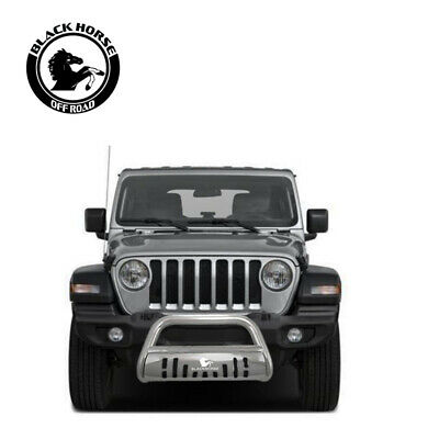 ATU 2007 2017 Jeep Wrangler JK Black Grille Brush Bumper Guard