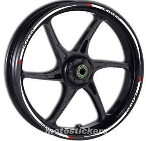 Kit ruote modello racing Adesivi Cerchi DERBI GPR 125
