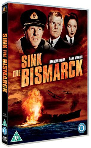 Sink the Bismarck! DVD (2012) Dana Wynter ***NEW***