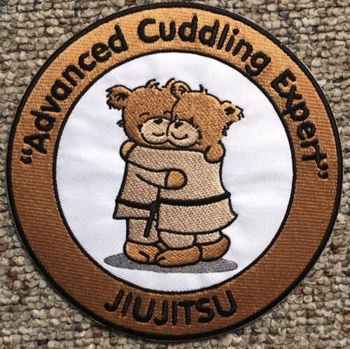 "Jiujitsu Advanced Cuddling Expert Patch for BJJ MMA Taekwondo Judo 6/"""