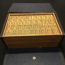 VINTAGE MAHJONGG  ANCIENT GAME OF THE MANDARINS PIROXLOID/FRENCH IVORY~144 TILES
