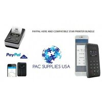 Paypal Here Contactless Chip And Pin Card Reader Plus Star Sm-s220i Bundle