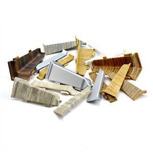 zubeh rteile f r fussleisten pvc 70mm leisten ecken sockelleiste laminat kabel ebay. Black Bedroom Furniture Sets. Home Design Ideas