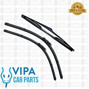 Citroen-C4-Hatchback-AUG-2004-to-MAR-2011-Windscreen-Wiper-Blades-Set