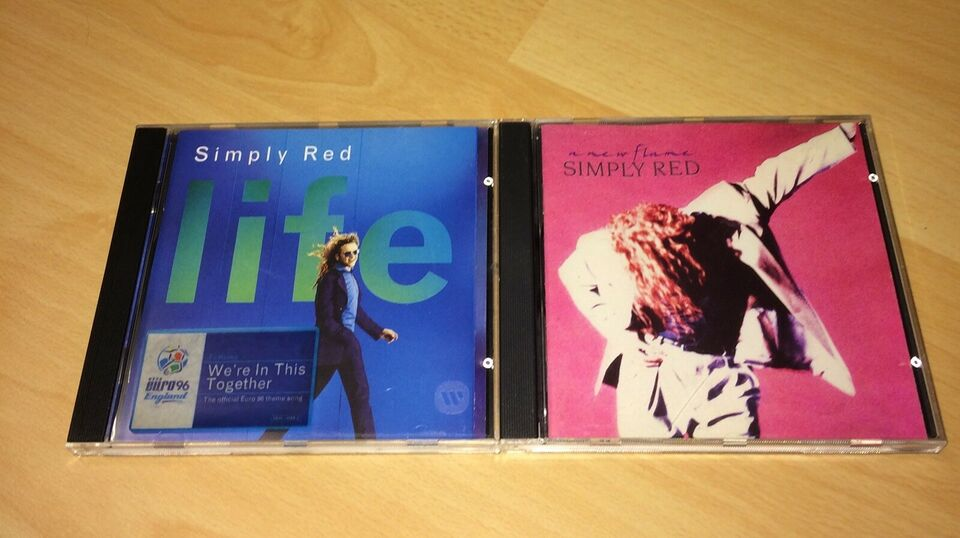 Simply Red: Samlet pakke 8 cd'er i alt, pop