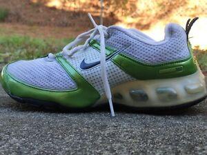 Nike Air Max 180 Retro Rare 2006 White Green Metallic Women's Size ...