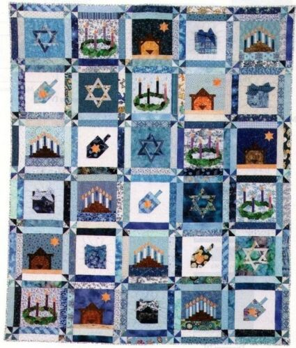 One Happy Family Quilt Pattern Pieced//Applique KP