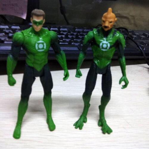 "2pcs 3.75/"" Different DC Universe Comics Green Lantern Figure Collection Toys"