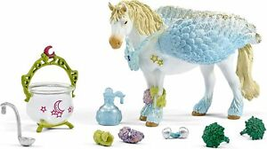Schleich-42172-Healing-Set-with-Pegasus-Animal-Model-Figurine-Bayala-NIB-Tear