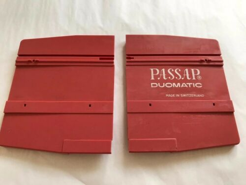 P30 PASSAP KNITTING MACHINE PART DUOMATIC PINKY FRONT BED EXTENSION PLATES L/&R