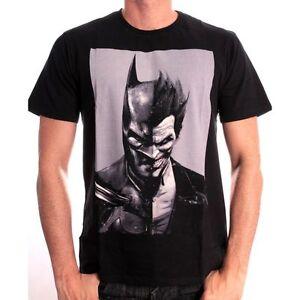 Stunning dc comics batman vs the joker arkham origins black t superbe dc comics batman vs le joker arkham voltagebd Gallery