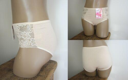 Nude Culotte X2 coton majoritaire du 40 au 48 Rouge