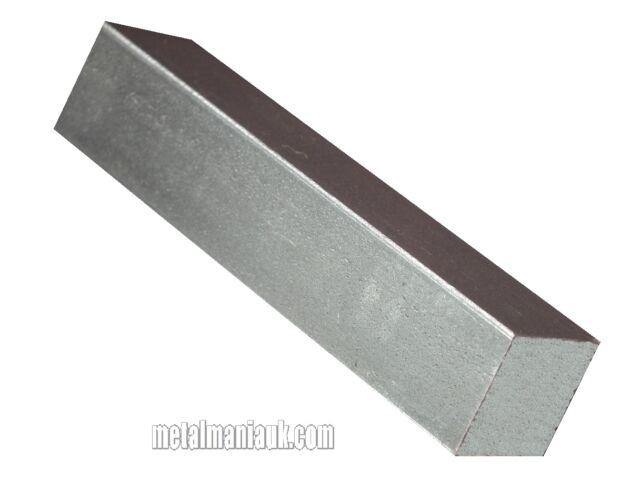 "Mild steel bright square 5/8"" x 5/8"" x 1500mm long"