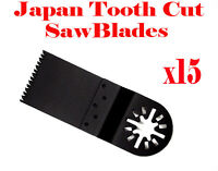 15 Course Cut Oscillating Multi Tool Saw Blades For Ridgid Chicago Ryobi Makita