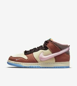 Nike Dunk Mid x Social Status Free Lunch Chocolate Milk US 11M *Confirmed Order*