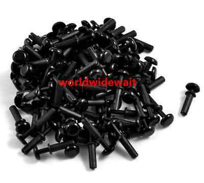 Disassemble Black Nylon Push Rivets Fasteners for 3.0-4.0mm Thick Panel R3055