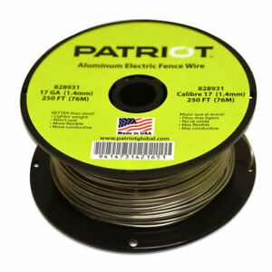 image is loading patriot-aluminum-wire-17-ga-1320-039