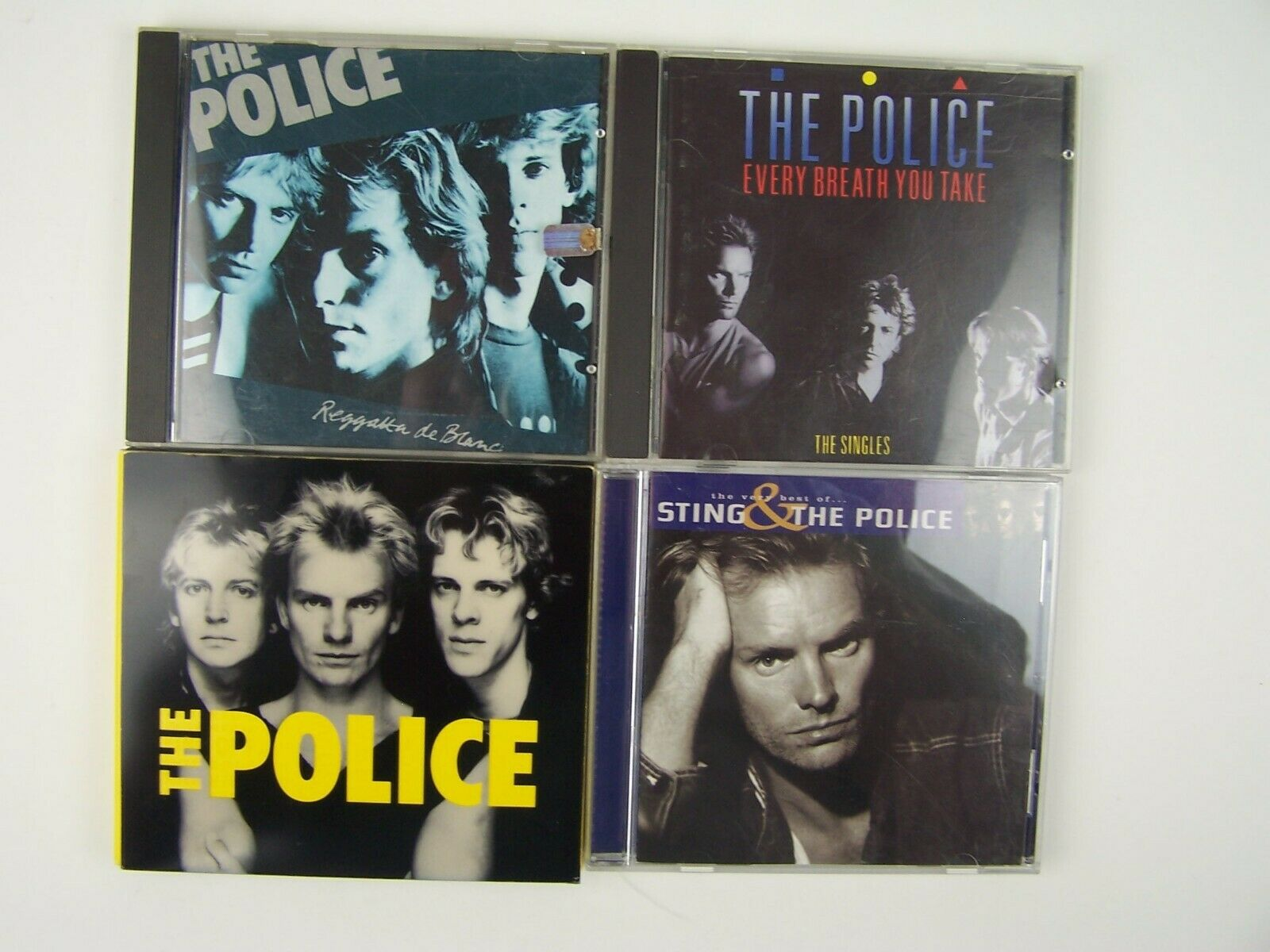 Sting & The Police 4xCD Lot #1