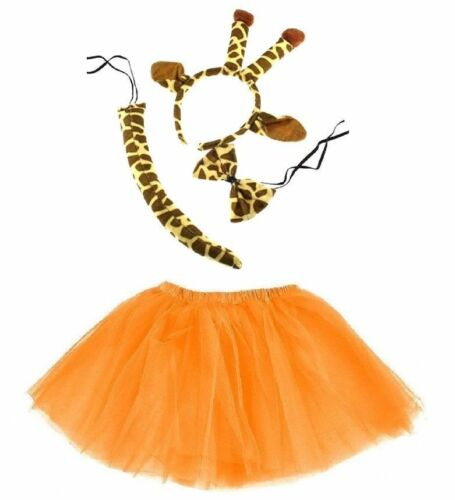 GIRAFFE Costume ragazza o donna ricoprire Carnevale Carnevale Halloween