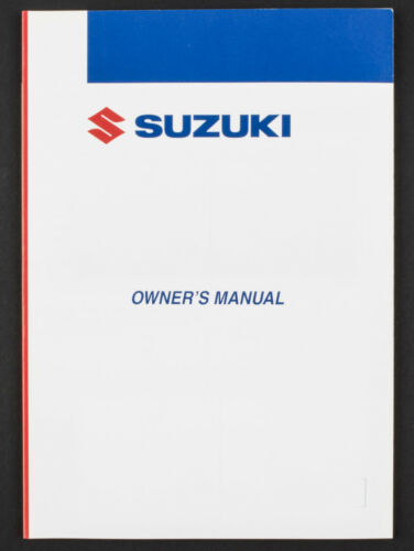 Genuine Suzuki ATV Owners Manual For LT50 (2002) 99011-04240-01S