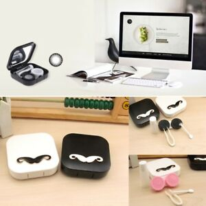 Mustache-Contact-Lens-Case-Eyes-Care-Kit-Holder-Container-Travel-Accessaries