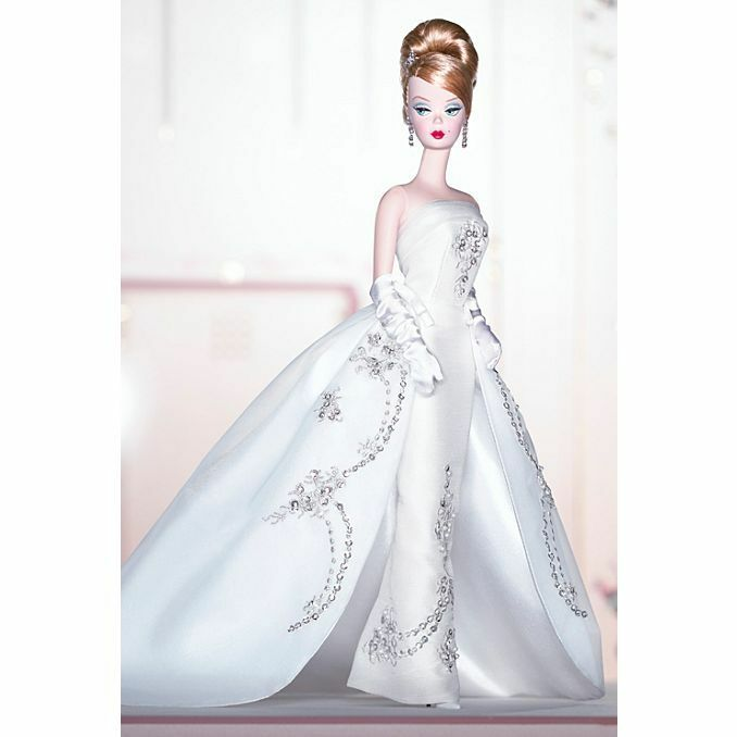 BARBIE DA COLLEZIONE Joyeux ™ Barbie® Doll B3430 MATTEL NUOVA