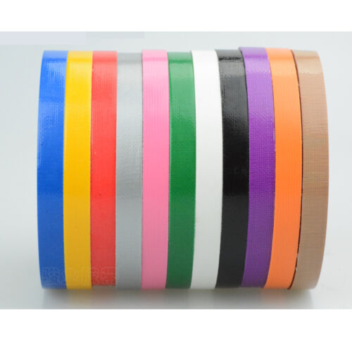 8 Pack Assorted Colors 10mm X 10M Wallet Duct Tape