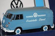 VW T1 Tranporter VW&Porsche Ersatzteildienst blau 1:24 Motormax 79556 neu & OVP