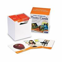 Learning Resources Basic Vocabulary Photo Cards Free Shipping