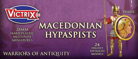 Victrix 28mm Macedonian Hypaspists # VXA021