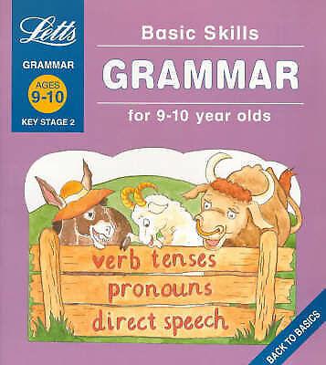 """AS NEW"" Basic Skills: Grammar 9-10: Ages 9-10, Fidge, Louis, Book"