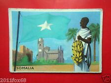figurines cromos cards figurine sidam gli stati del mondo 74 somalia flags flag