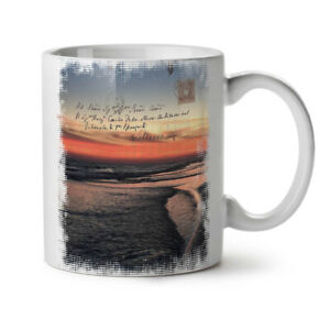 Summer Sunset Sea NEW White Tea Coffee Mug 11 oz | Wellcoda